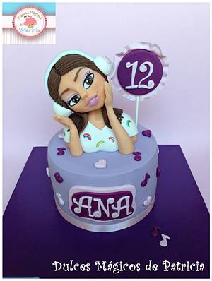 Violetta´s cake - Cake by Dulces Mágicos de Patricia