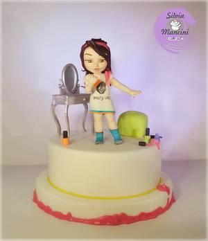Nail polish ..the cake !  - Cake by Silvia Mancini Cake Art