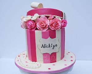 Victoria Secret Gift Box Cake - Cake by Seema Acharya