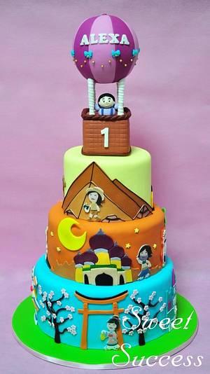 Around the World Cake - Cake by Sweet Success