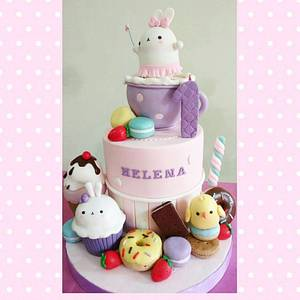 Molang - Cake by Astried