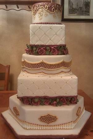 State fair wedding cake - Cake by Eric Johnson