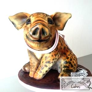 Piggy's Identity Crisis - Cake by Flappergasted Cakes