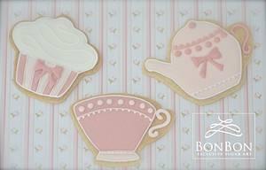 cupcake cookie - Cake by bonbonsugarart