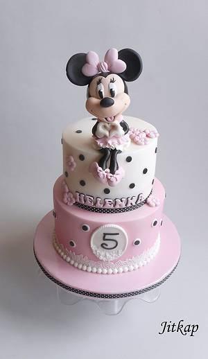 Minnie Mouse cake - Cake by Jitkap