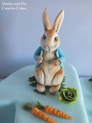 Peter Rabbit - Cake by Mother and Me Creative Cakes