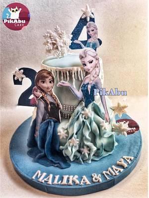 Frozen Cake - Cake by Bebo