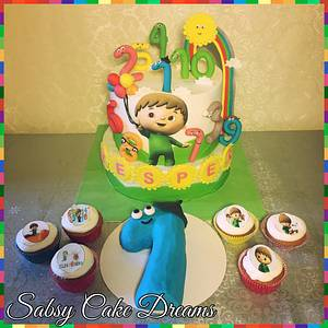 Charlie and THE Numbers cake  - Cake by Sabsy Cake Dreams