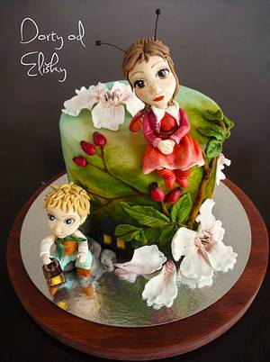 Fireflies (in original czech: Broučci) - Cake by Eliska