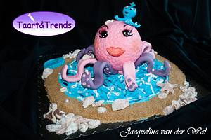 Octopussy for Taart&Trends ..... - Cake by Jacqueline