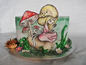 Little forest - Cake by Veronika