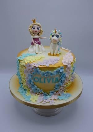 Again unicorn 😃😉 - Cake by Olina Wolfs