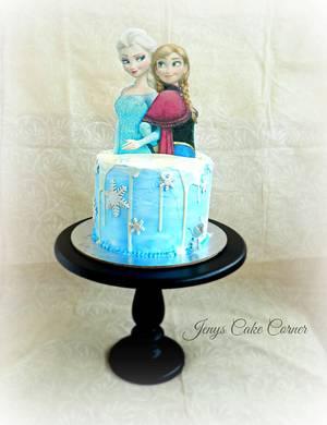Frozen !! - Cake by Jeny John