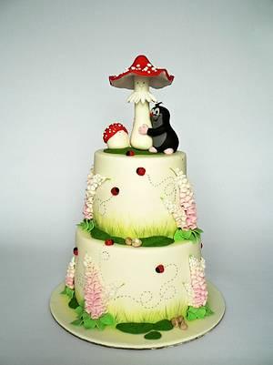 Little Mole cake - Cake by Martina Matyášová