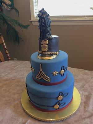 Citadel Graduation - Cake by Theresa