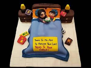 Parent and Child Bonding - Cake by Neha Bajpai