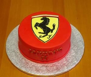 Ferrari Birthday Cake - Cake by Framona cakes ( Cakes by Monika)
