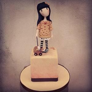 Gorjuss - Cake by Valeria Antipatico