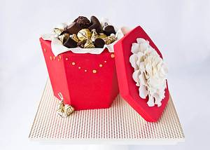 Chocolate Box Cake - Cake by Sweetness and Bite