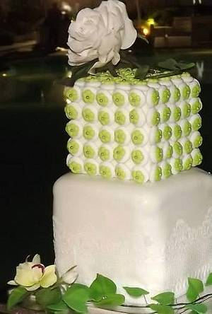 cakes wedding anniversary - Cake by ANTONELLA VACCIANO