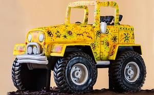 Jeep - Cake by Paul Bradford Sugarcraft School