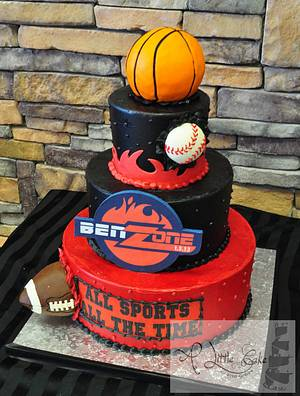 Bar & Bat Mitzvah Cakes - Cake by Leo Sciancalepore