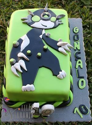 Ben 10 Omnitrix - Cake by Lilas e Laranja (by Teresa de Gruyter)