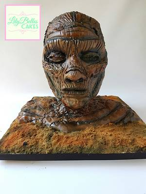 The Mummy. Cakenstiens Monsters collaboration  - Cake by Jenny Dowd