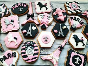 Paris cookies  - Cake by DI ART