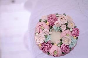 Flower Garden - Cake by AysemOztas