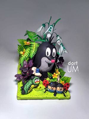 Mole and friends - Cake by dortUM