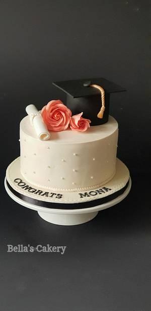 Graduation cake! - Cake by Bella's Cakes
