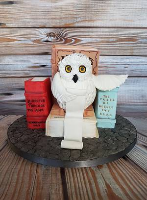 Hedwig - Cake by Jennassignaturebakes