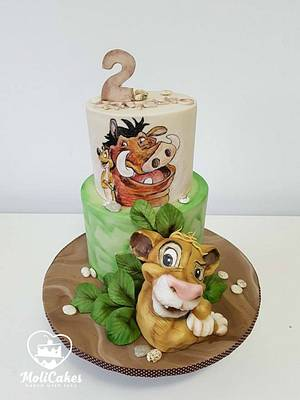 The Lion King  - Cake by MOLI Cakes