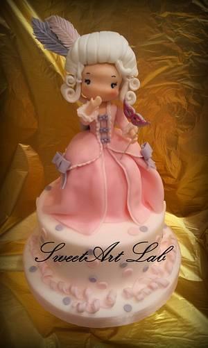 Maria Antonietta - Cake by  Michela Barocci - Sugar Artist
