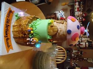 Fairy Mushroom Birtyday cake - Cake by Joann Gottermeyer
