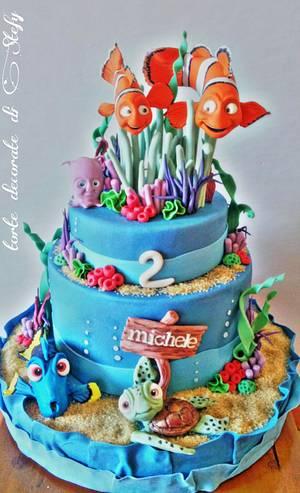 Nemo cake - Cake by Torte decorate di Stefy by Stefania Sanna