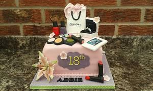 Pandora Birthday cake  - Cake by Karen's Kakery
