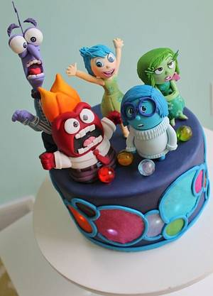 Inside Out Cake - Cake by Alex Narramore (The Mischief Maker)