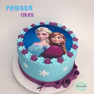 Torta Frozen Medellín - Cake by Dulcepastel.com
