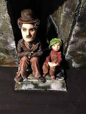 Charlie Chaplin & The Kid - Let's Dream Together Collaboration  - Cake by Nightwitch