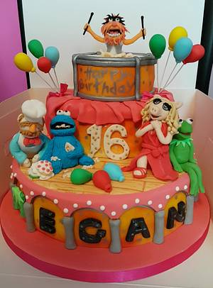 Muppets - Cake by Michelle