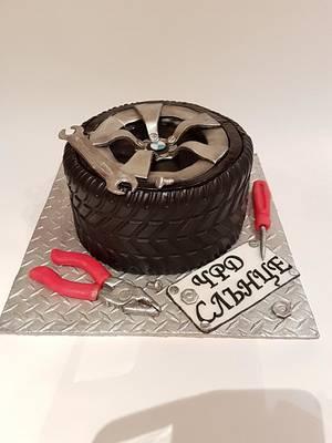 Auto Mechanic cake - Cake by Nebibe Nelly