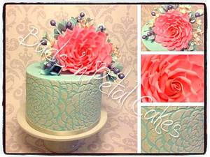 Thera - Cake by Buds 'n Petal Cakes