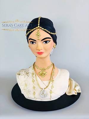 Beautiful Sri Lanka  - Cake by Sera's Cake Art