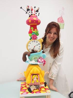 Alicia en el país de las maravillas - Cake by Natalia Da Silva Carmona