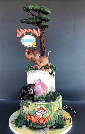 Jungle Book cake - Cake by Branka Vukcevic