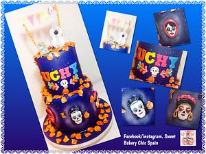 Coco Disney Pixar Cake - Cake by SweetBakeryChicSpain