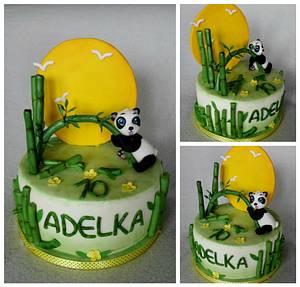 Panda - Cake by Anka