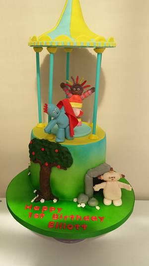 In the night garden cake xx - Cake by My Darlin Cakes